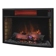 classic flame 32 32ii310gra curved infrared electric fireplace insert
