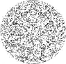 Small Picture Mandala Coloring Pages Advanced Level 2017 Coloring Mandala