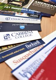 college decision day is how should high school students college brochures