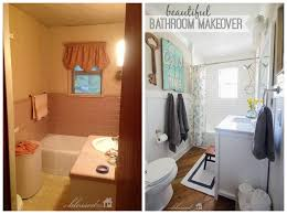 Bathroom Renovations Before And After Home Decorating - Before and after bathroom renovations