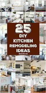 25 Inspiring Diy Kitchen Remodeling Ideas That Will Frugally Transform Your Kitchen Diy Crafts