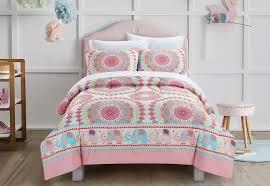 pink kids bedding comforter set ellie elephant for girls bed full size for girl