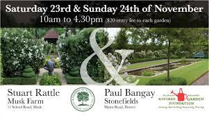 Stephanie Alexander Kitchen Garden Foundation Ian Barker Garden At Stonefields Landscapenetau