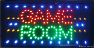 gameroom lighting. 2018 2016 Game Room Led Neon Light Sign Large Size 55cm*33cm Indoor Use Of Free Shippipng From Taotao1818, $39.08   Dhgate.Com Gameroom Lighting