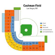 Cashman Field Seating Chart Clean Cashman Field Seating Map