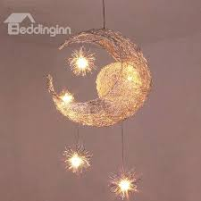 moon ceiling light simple style creative star and moon design flush mount ceiling light moonraker integrated