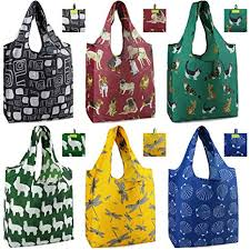 Reusable Grocery Tote Bags 50 LBS Extra Large 6 ... - Amazon.com