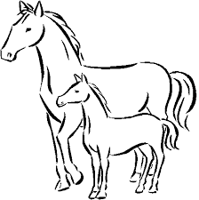 Horse Coloring Pages For Preschool Coloringstar