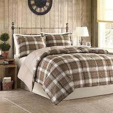 plaid flannel duvet cover full plaid duvet covers full woolrich lumberjack down alt mini comforter set full queen multicolor
