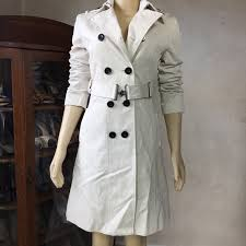 Mexx Tan Trench Coat In Womens Size 4