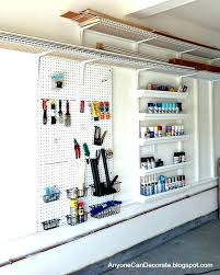 peg wall garage garage pegboard garage wall ideas