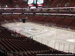 Honda Center View From Club Level 304 Vivid Seats