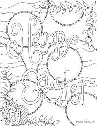 Easter Coloring Pages Doodle Art Alley Free Easter Coloring Pages