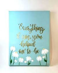 Canvas Quotes Delectable Inspirational Wall Art Housewarming Gift Home Decor Quotes Canvas