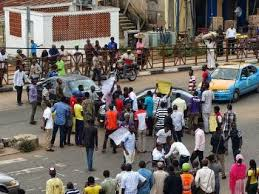 Image result for pictures of asuu strike by students