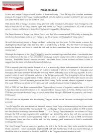 Ave Paanga Pau Tonga Development Bank