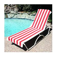 beach chair covers towel lounge terry cloth