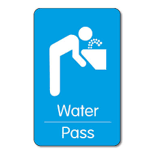 Water Pass Plastic Class Pass 10 Wallet Sized Cards