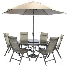 6 Chairs And Table Garden royalcraft henley round table with 6