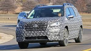 2018 subaru ascent specs. contemporary subaru 2018 subaru ascent spy photos in subaru ascent specs