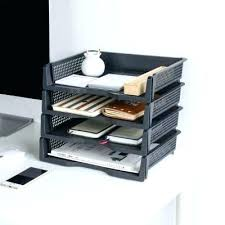 desk office file document paper. Stackable Paper Trays Plastic Tray Lot Office Document Storage Box File Desk Cheap Clear A