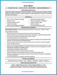 Medical Billing And Coding Resume Sample Gallery of Medical Billing Resume Example 53