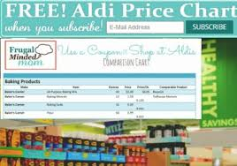 Free Aldi Price Chart Should You Use A Coupon Or Go To