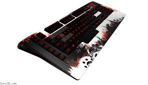 and arenanet guild wars 2 gaming keyboard