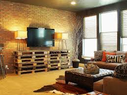Small Picture 25 Brick Wall Designs Decor Ideas For Living Room Design