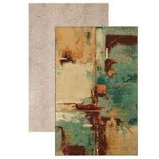 aqua fusion set set includes 5 ft x 8 ft area rug