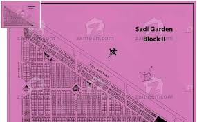 west open 120 sqr yard plot in saadi garden block 2 karachi