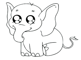 Baby Animals To Color Best Baby Animal Images On Coloring Pages