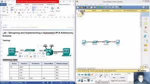 Designing And Implementing A Subnetted Ipv4 Addressing Scheme Answers 8 1 4 8 9 2 1 3 Lab Designing And Implementing A Subnetted Ipv4 Addressing Scheme