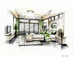 Marker Rendering Interior Design Sketchup Interior Rendering Interior Marker Rendering 3 By