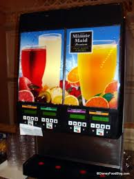 Minute Maid Vending Machine Interesting Review Disneyland Plaza Inn's Breakfast With Minnie And Friends