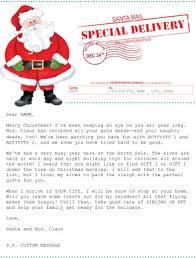 Printable Santas Mail Letter Template