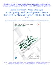 Introduction To Game Design Prototyping And Development Pdf Free Download Pdf Introduction To Game Design Prototyping And