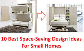 Small Picture 10 Best Space Saving Design Ideas For Small Homes YouTube