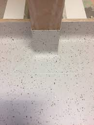 unlike hard surfaces such as wood laminate terrazzo or ceramic tile vinyl floors have an element of flexibility and thus are referred to as resilient