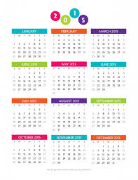 free printable 12 month calendar free printable year at a glance 2015 calendar graphics galore