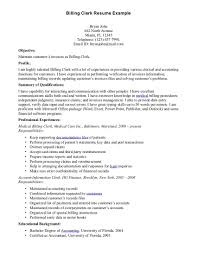 Medical Billing Coding Resume Sample Entry Level And Examples For