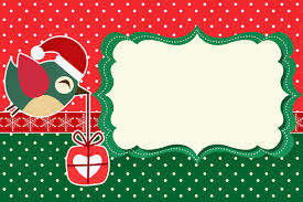 christmas birds printable invitations or cards is it for printable invitations cards photo frames or labels