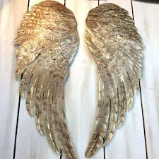 wings wall art to awesome angel wings wall art metal heart with wings wall art