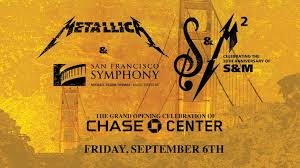 Chase Center Seating Chart San Francisco Metallica And San Francisco Symphony Announced As Inaugural