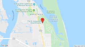 The Amp In St Augustine Fl Concerts Tickets Map