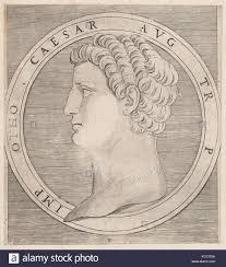 Twelve Caesars Speculum Romanae Magnificentiae Otho From The Twelve Caesars Stock