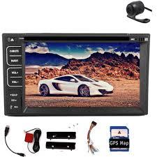 GPS Navigation Double 2Din <b>Car</b> Stereo <b>MP3</b>/MP4 Player BT <b>Auto</b> ...