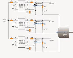 pwm motor soft start circuit electronic circuit projects 3 phase soft start circuit using pwm