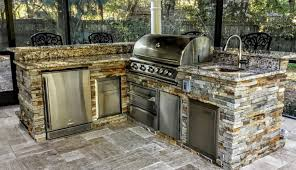 outdoor countertops climates dimensions tile for hood bbq and plans insert kits parts cabinets frame island