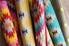 their latest latitude collection has captured our hearts with their nod to traditional turkish kilim prints and vibrant colour combos